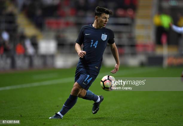 Bobby Duncan of England during the International Match between England U17 and Germany U17 at The New York Stadium on November 14 2017 in Rotherham...