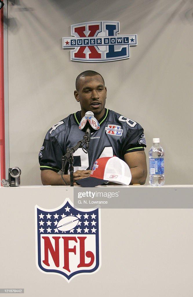 Super Bowl XL - Seattle Seahawks Media Day