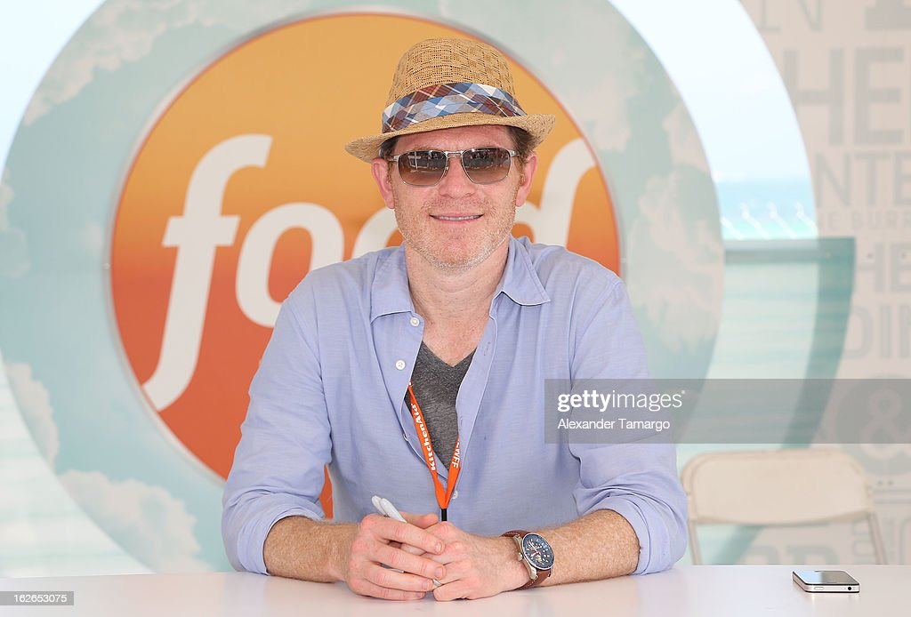 <a gi-track='captionPersonalityLinkClicked' href=/galleries/search?phrase=Bobby+Flay&family=editorial&specificpeople=220554 ng-click='$event.stopPropagation()'>Bobby Flay</a> attends South Beach Wine and Food Festival 2013 Grand Tasting Village on February 24, 2013 in Miami Beach, Florida.