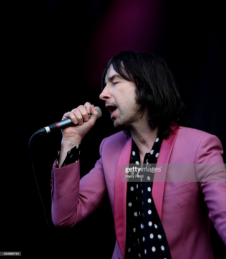 <a gi-track='captionPersonalityLinkClicked' href=/galleries/search?phrase=Bobby+Gillespie&family=editorial&specificpeople=572876 ng-click='$event.stopPropagation()'>Bobby Gillespie</a> of Primal Scream performs at Common People Festival at Southampton Common on May 28, 2016 in Southampton, England.