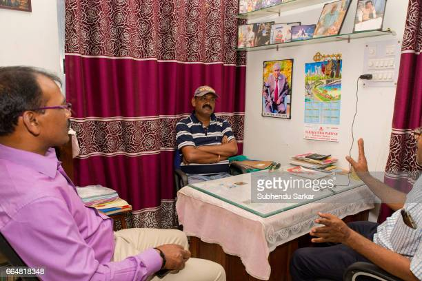 MCCLUSKIEGUNJ RANCHI JHARKHAND INDIA Bobby Gomes one of the AngloIndians living at McCluskiegunj runs a guest house and a hostel for students...