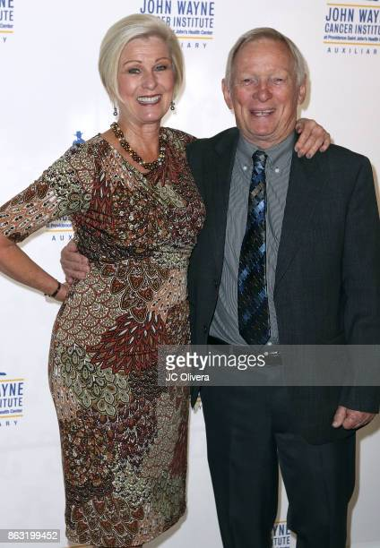Bobby Herbeck and Tami Herbeck attend John Wayne Cancer Institute Auxiliary honoring Sheryl A Ross MD with The Angel Award at the Beverly Wilshire...