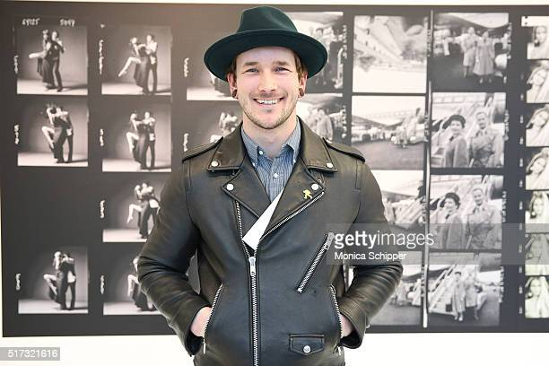 Bobby Hicks attends the Stories Untold Conde Nast Collection Presented By Getty Images Opening Celebration at The Conde Nast Gallery on March 24 2016...