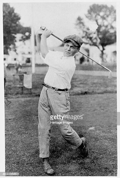 Bobby Jones American golfer 1920s Jones won the famous Grand Slam of the four major tournaments in 1930