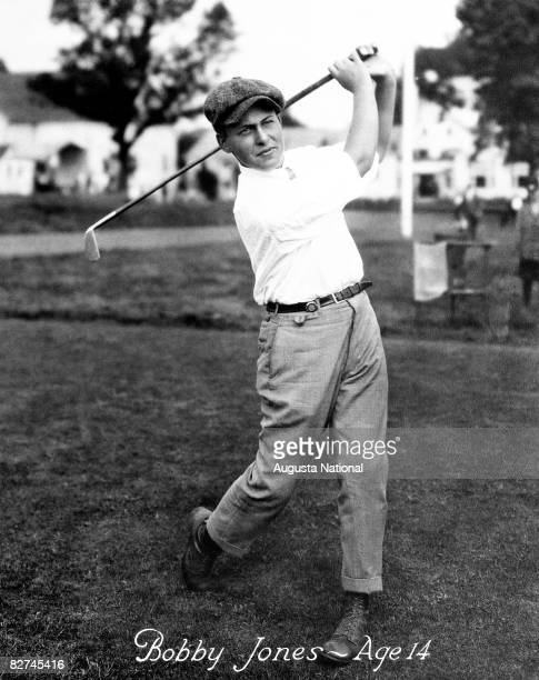 Bobby Jones at age 14 during 1916
