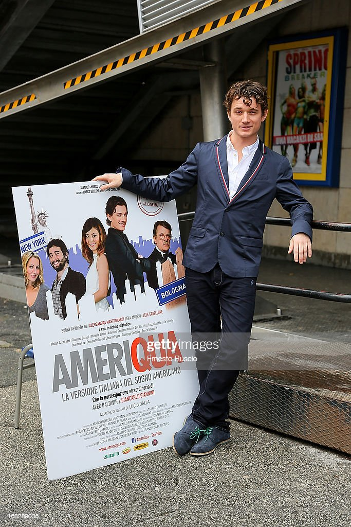 Bobby Kennedy III attends the 'Ameriqua' photocall at UCI Cinemas Marconi on March 7, 2013 in Rome, Italy.