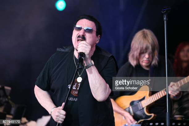 Bobby Kimball performs at the Man Doki Soulmates concert during the Sziget Festival at Budapest Park on August 8 2017 in Budapest Hungary The Sziget...