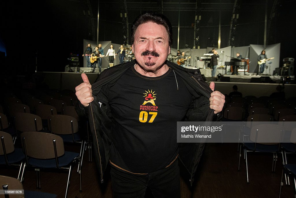 Bobby Kimball supports the Floyd Reloaded Show at Mitsubishi Hall on January 4, 2013 in Duesseldorf, Germany.