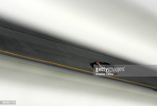 Bobby Labonte driver of the Cheerios Dodge during NASCAR Nextel Cup Series January Testing on January 10 2006 at Daytona International Speedway in...