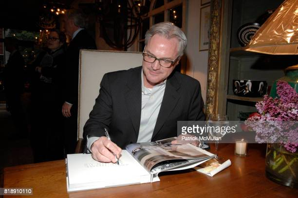 Bobby McAlpine attend Book Party for BOBBY MCALPINE'S 'THE HOME WITHIN US' from RIZZOLI at Treillage on May 18th 2010 in New York City