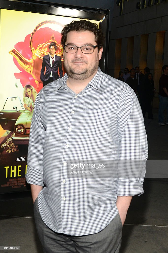 <a gi-track='captionPersonalityLinkClicked' href=/galleries/search?phrase=Bobby+Moynihan&family=editorial&specificpeople=5633398 ng-click='$event.stopPropagation()'>Bobby Moynihan</a> arrives at the LA screening of Magnolia Pictures' 'The Brass Teapot' at ArcLight Hollywood on March 21, 2013 in Hollywood, California.