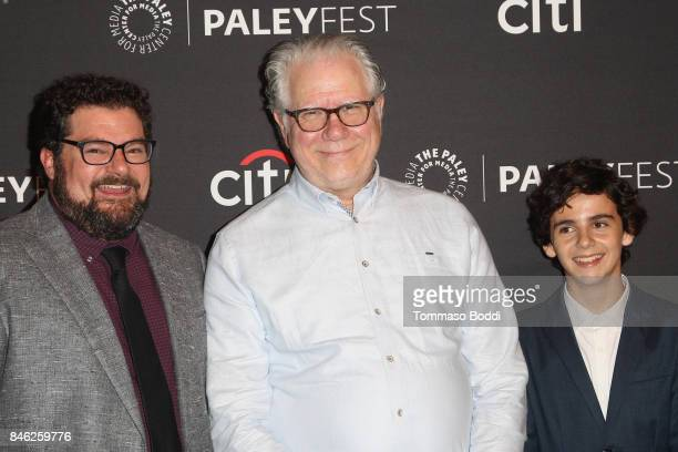 Bobby Moynihan John Larroquette and Jack Dylan Grazer attend the The Paley Center For Media's 11th Annual PaleyFest Fall TV Previews Los Angeles CBS...