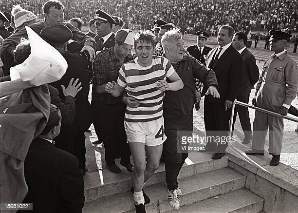 Bobby Murdoch of Celtic during the Europa Cup match between Celtig Glasgow and Inter Milan on May 25 1967 at Lissabon Portugal