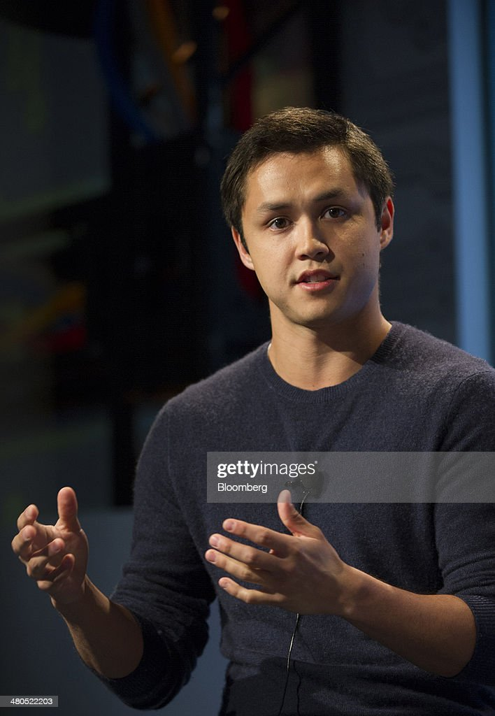 Bobby Murphy, chief technology officer and co-founder of Snapchat Inc., speaks during a Google Inc. Cloud event in San Francisco, California, U.S., on Thursday, March 25, 2014. Google Inc. cut prices on some Internet-based services for businesses by 30 percent or more, stepping up a challenge to Amazon.com Inc. and Microsoft Corp. in cloud computing. Photographer: David Paul Morris/Bloomberg via Getty Images