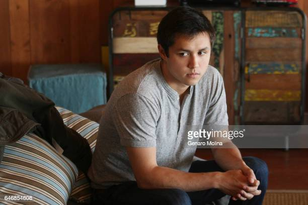 Bobby Murphy cocreator of Snapchat is photographed at the company's offices in Venice for Los Angeles Times on May 6 2013 in Venice California...