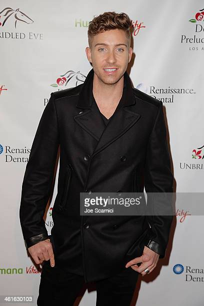 Bobby Newberry arrives at the 5th Annual Los Angeles Unbridled Eve Derby Prelude Party at The London West Hollywood on January 9 2014 in West...