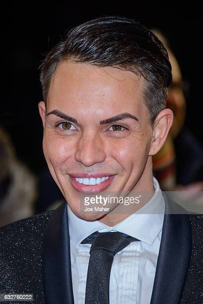 Bobby Norris attends the National Television Awards on January 25 2017 in London United Kingdom