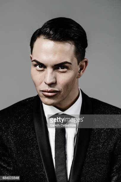 Bobby Norris attends the National Television Awards Portrait Studio at The O2 Arena on January 25 2017 in London England
