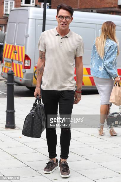 Bobby Norris attends the new series launch of 'Celebs Go Dating' on August 16 2017 in London England