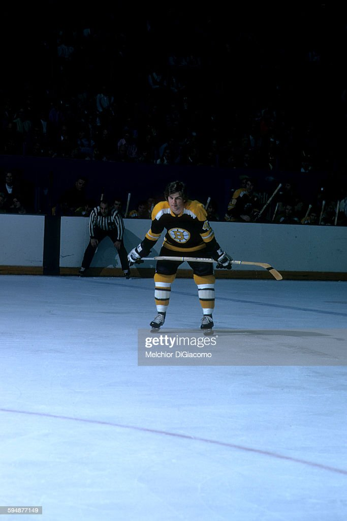 <a gi-track='captionPersonalityLinkClicked' href=/galleries/search?phrase=Bobby+Orr&family=editorial&specificpeople=204573 ng-click='$event.stopPropagation()'>Bobby Orr</a> #4 of the Boston Bruins waits on the ice during an NHL game in January, 1973.