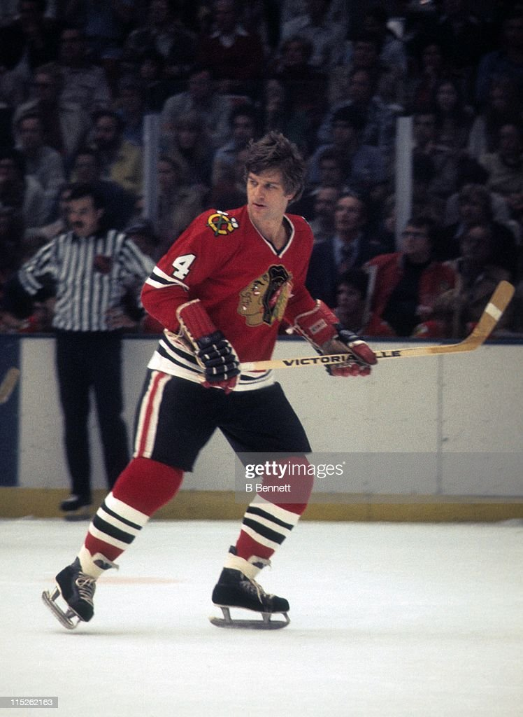 <a gi-track='captionPersonalityLinkClicked' href=/galleries/search?phrase=Bobby+Orr&family=editorial&specificpeople=204573 ng-click='$event.stopPropagation()'>Bobby Orr</a> #4 of the Chicago Blackhawks skates on the ice during an NHL game circa 1978.