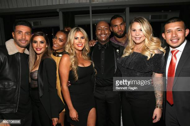 Bobby Panahi Asifa Mirza Amina Pankey Juelia Kinney Ish Major DeAndre Perry Kailyn Lowry and Javi Marroquin attend the exclusive premiere party for...