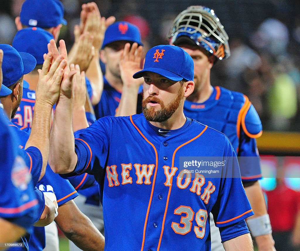<a gi-track='captionPersonalityLinkClicked' href=/galleries/search?phrase=Bobby+Parnell&family=editorial&specificpeople=5530596 ng-click='$event.stopPropagation()'>Bobby Parnell</a> #39 of the New York Mets celebrates after the game against the Atlanta Braves at Turner Field on June 20, 2013 in Atlanta, Georgia.
