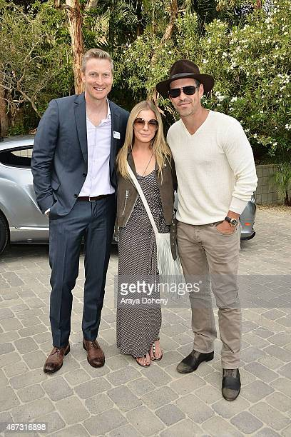 Bobby Ralston LeAnn Rimes and Eddie Cibrian attend the Project Angel Food presents in concert with Andrew von Oeyen on March 22 2015 in Malibu...