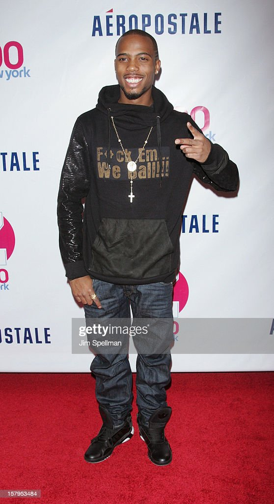 Bobby Ray Simmons Jr attends Z100's Jingle Ball 2012, presented by Aeropostale, at Madison Square Garden on December 7, 2012 in New York City.