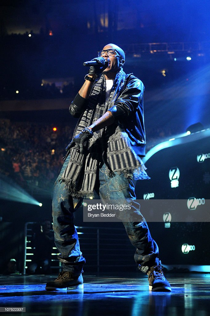Bobby Ray Simmons of BoB performs during Z100's Jingle Ball 2010 at Madison Square Garden on December 10 2010 in New York City