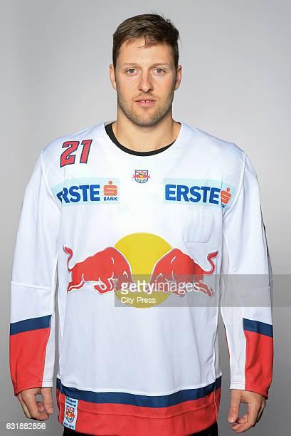 Bobby Raymond of EC Red Bull Salzburg during the portrait shot September 16 2016 in Salzburg Austria
