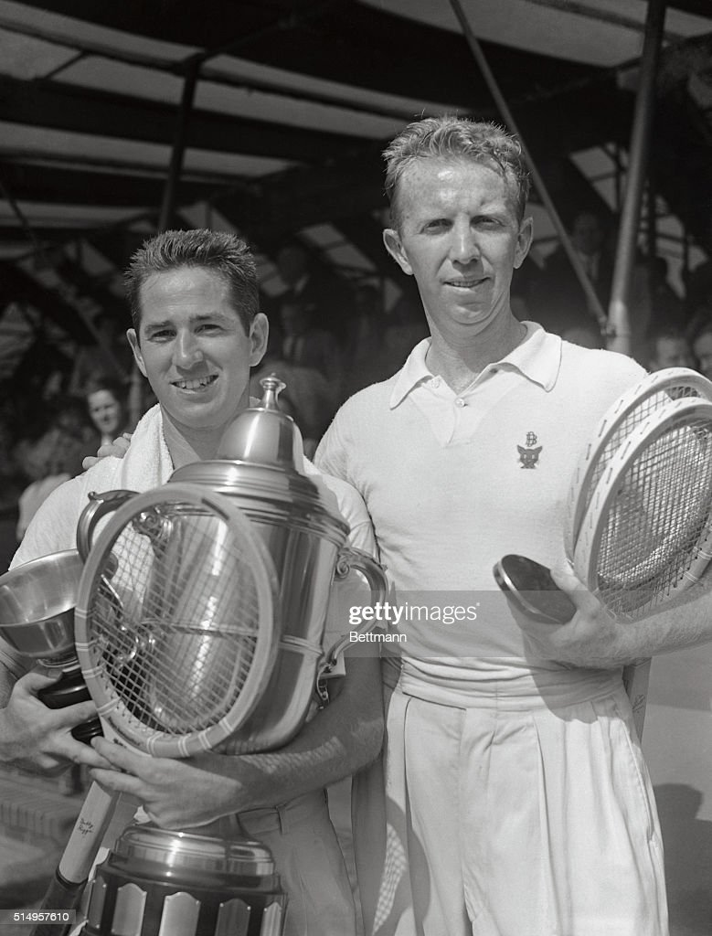 Don Budge and Bobby Riggs