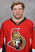 Bobby Ryan of the Ottawa Senators poses for his official headshot for the 20152016 season on September 17 2015 at Canadian Tire Centre in Ottawa...