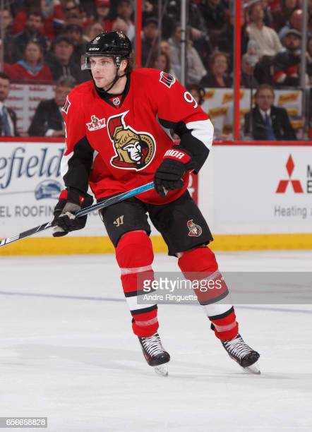 Bobby Ryan of the Ottawa Senators skates against the Montreal Canadiens at Canadian Tire Centre on March 18 2017 in Ottawa Ontario Canada