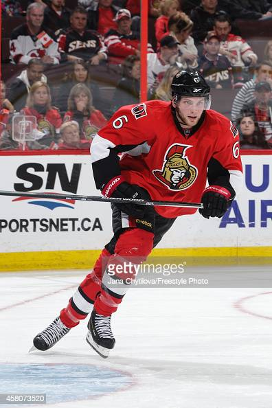 Bobby Ryan of the Ottawa Senators skates against the New Jersey Devils during an NHL game at Canadian Tire Centre on October 25 2014 in Ottawa...