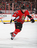 Bobby Ryan of the Ottawa Senators skates against the St Louis Blues at Canadian Tire Centre on March 1 2016 in Ottawa Ontario Canada