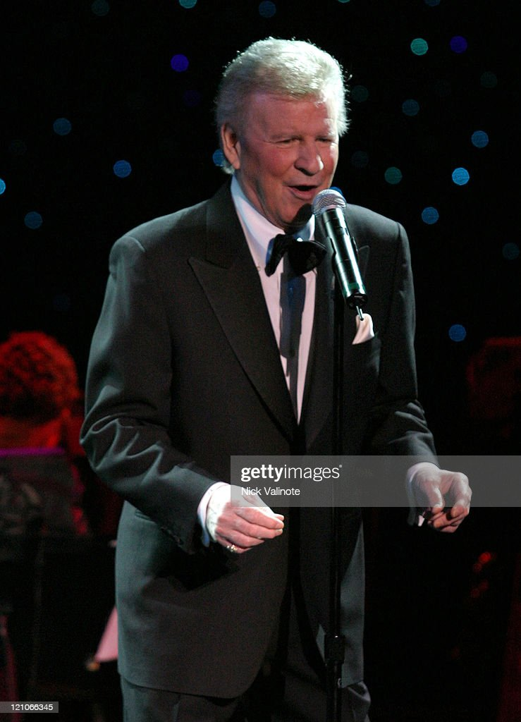 Bobby Rydell during Dick Fox's Golden Boys Starring Frankie Avalon, Fabian and Bobby Rydell in Concert - January 6, 2006 at Harrah's Showroom in Atlantic City, New Jersey, United States.