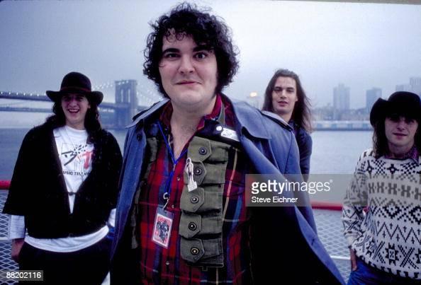 Bobby Sheehan John Popper Chan Kinchla and Brendan Hill of Blues Traveler in New York City 1990