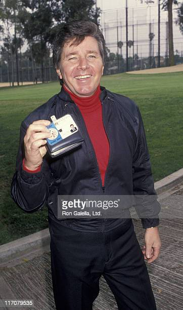 Bobby Sherman attends 23rd Annual Los Angeles PoliceCelebrity Golf Tournament on May 14 1994 at Rancho Park in Los Angeles California