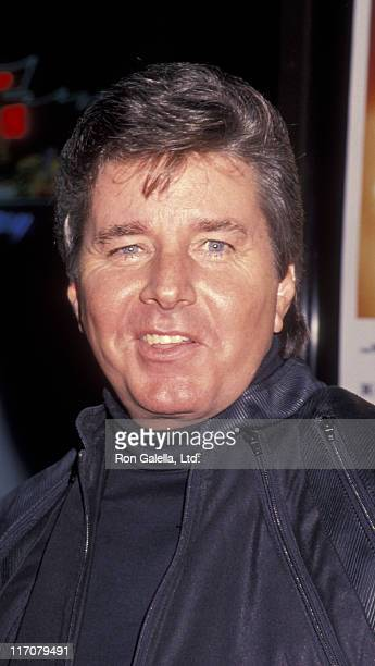 Bobby Sherman attends the premiere of 'Jason Goes To Hell The Final Friday' on August 12 1993 at Mann Chinese Theater in Hollywood California