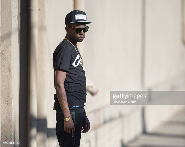Bobby Shmurda is seen at 'Jimmy Kimmel Live' on December 08 2014 in Los Angeles California