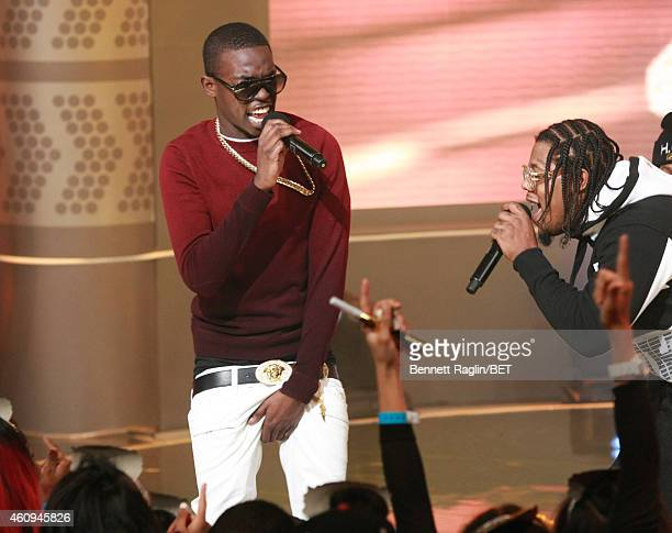 Bobby Shmurda performs during 106 Party on December 12 2014 in New York City