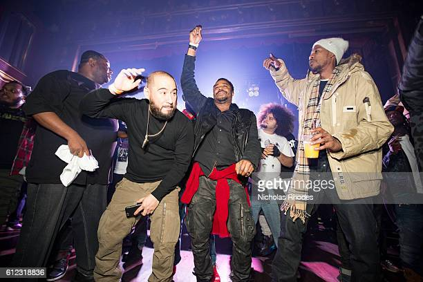Bobby Trends Just Blaze Young Gurur perform at House Party NYC presents Just Blaze's Birthday Bash at Webster Hall on January 7 2016