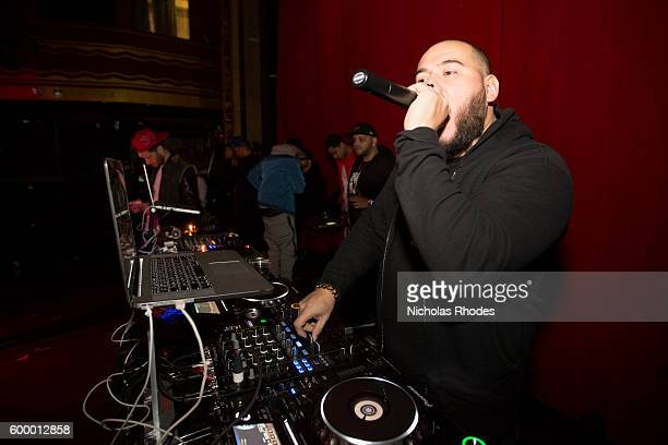 Bobby Trends performs at House Party NYC at Webster Hall on December 18 2014