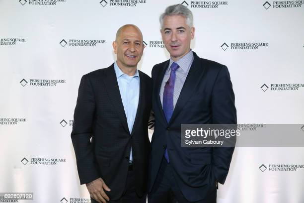 Bobby Turner and Bill Ackman attend The Pershing Square Foundation 10th Anniversary Celebration at Park Avenue Armory on June 5 2017 in New York City