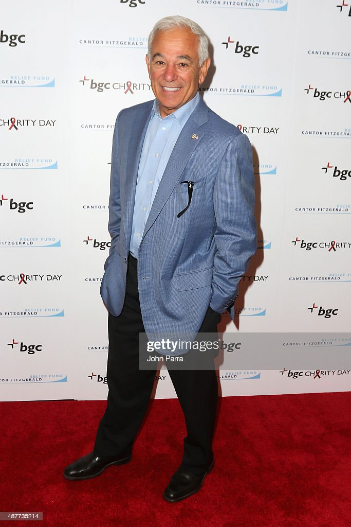 <a gi-track='captionPersonalityLinkClicked' href=/galleries/search?phrase=Bobby+Valentine&family=editorial&specificpeople=214135 ng-click='$event.stopPropagation()'>Bobby Valentine</a> attends Annual Charity Day hosted by Cantor Fitzgerald and BGC at BGC Partners, INC on September 11, 2015 in New York City.