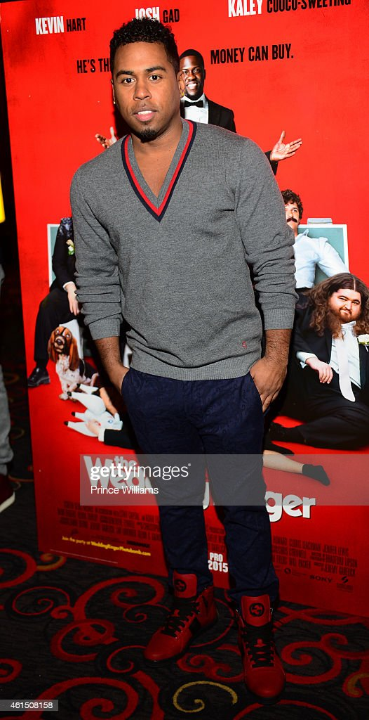 Bobby Valentino Attends The Wedding Ringer Atlanta Screening At Regal Picture