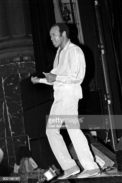 Bobby Womack at the Beacon Theater in New York City on June 23 1984