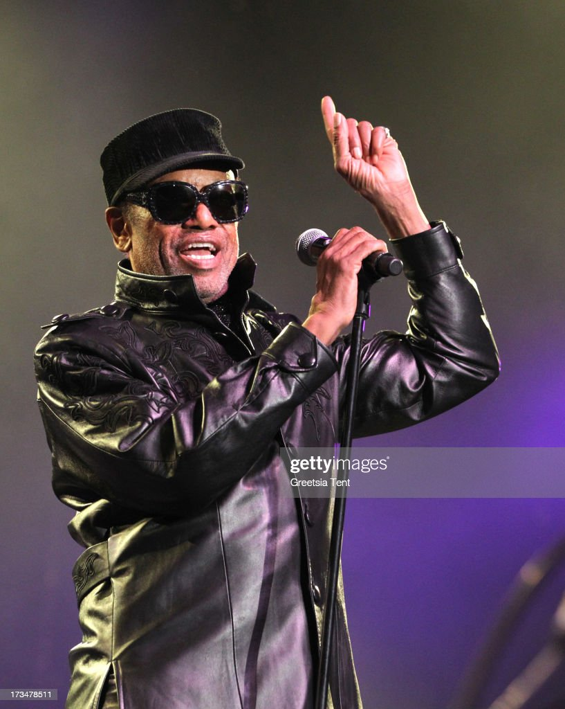 <a gi-track='captionPersonalityLinkClicked' href=/galleries/search?phrase=Bobby+Womack&family=editorial&specificpeople=1667949 ng-click='$event.stopPropagation()'>Bobby Womack</a> performs at day three of the North Sea Jazz Festival at Ahoy on July 14, 2013 in Rotterdam, Netherlands.