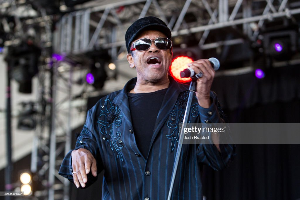 <a gi-track='captionPersonalityLinkClicked' href=/galleries/search?phrase=Bobby+Womack&family=editorial&specificpeople=1667949 ng-click='$event.stopPropagation()'>Bobby Womack</a> performs during the 2014 Bonnaroo Music & Arts Festival on June 14, 2014 in Manchester, Tennessee.